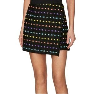 DVF wool mini skirt